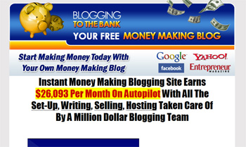 Discover .... How You Can Blog To The Bank